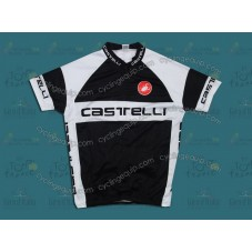Castelli Black/White Cycling Jersey