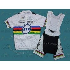 Trek 2011 World Champion Cycling Jersey And Bib Shorts Set