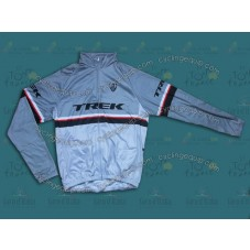 2013 Team Trek Grey  Thermal Long Sleeve Cycling Jersey