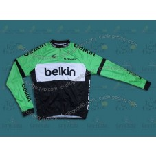 2014 Belkin Pro Team Cycling Long Sleeve Jersey