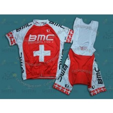 2014 BMC Switzerland Champion  Cycling Jersey And Bib Shorts Set