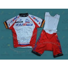 2014 Team Katusha  Cycling Jersey And Bib Shorts Set