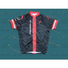 2014 Pinarello Black and Red   Cycling Jersey
