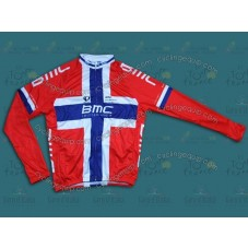2014 BMC Finland Champion Cycling Long Sleeve Jersey