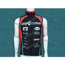 2013 CUBE MHW Black Cycling Wind Vest
