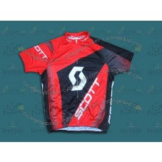 2013 Scott Red  Cycling Jersey