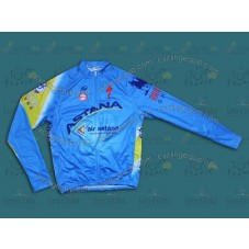 2014 Team Astana Cycling Long Sleeve Jersey