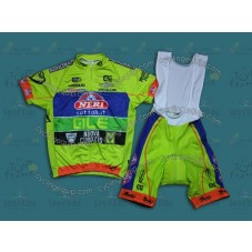 2014 Neri Sottoli- Yellow Fluo  Cycling Jersey And Bib Shorts Set