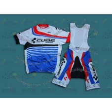 2014 Cube  Cycling Jersey And Bib Shorts Set