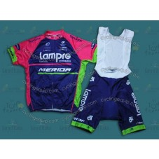 2014 Team Lampre  Cycling Jersey And Bib Shorts Set