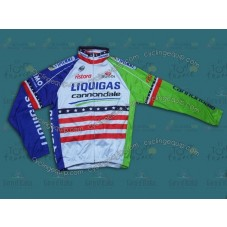 2013  Liquigas US Champion  Thermal Long Sleeve Cycling Jersey