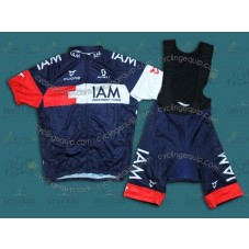 2014 Team IAM  Cycling Jersey And Bib Shorts Set
