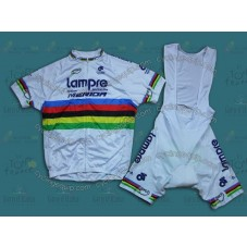 2014 Lampre World Champion  Cycling Jersey And Bib Shorts Set