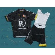 RadioShack R28 Champion Cycling Jersey And Bib Shorts Set