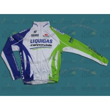 2011 Liquigas Thermal Cycling Long Sleeve Jersey