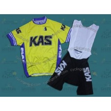 2011 Kas Kaskol Cycling Jersey And Bib Shorts Set