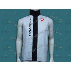 2014 Pinarello White Cycling Wind Vest