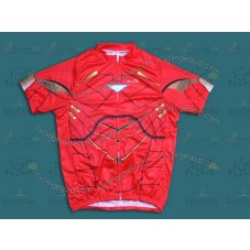 2014 Iron Man Red   Cycling Jersey