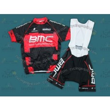 2012 BMC Continental Cycling Jersey And Bib Shorts Set