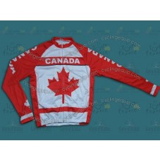 2014 Canada Country Team Cycling Long Sleeve Jersey
