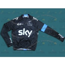 2014 Sky Professional Team Cycling Long Sleeve Jersey