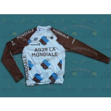 2014 Ag2r-La Mondiale Cycling Long Sleeve Jersey