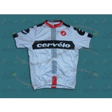 2014 Team Cervelo White  Cycling Jersey