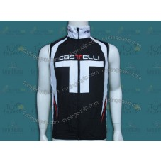 2014 Castelli Black T Style Cycling Wind Vest