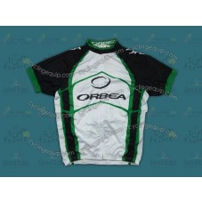 2012 Orbea White And Green Cycling Jersey
