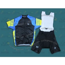 2014 Pearl Izumi Team Black/Blue  Cycling Jersey And Bib Shorts Set