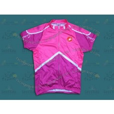 2014 Castelli Pink And Purple Women   Cycling Jersey