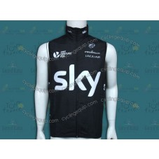 2014 Sky Professional Team Cycling Wind Vest
