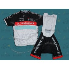 2012 Leopard Trek Radioshack Cycling Jersey And Bib Shorts Set