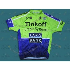2014 Saxo Bank TDF Fluorescent   Cycling Jersey
