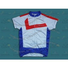 2014 Nalini White And Blue Women   Cycling Jersey