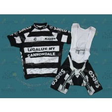 2012 Cannondale Legalize My Cycling Jersey And Bib Shorts Set