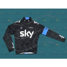 2013 Sky Professional Team Thermal Long Cycling Long Sleeve Jersey