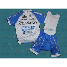 2012 Colnago CSF Inox Cycling Jersey And Bib Shorts Set