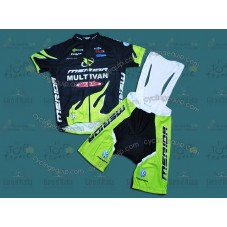 Multivan Merida Cycling Jersey And Bib Shorts Set