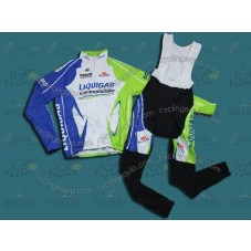 2012 Liquigas Thermal Cycling Long Sleeve Jersey And Bib Pants Set