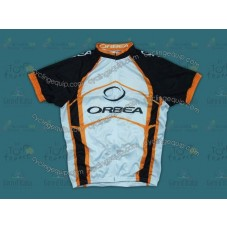 2012 Orbea White And Yellow Cycling Jersey