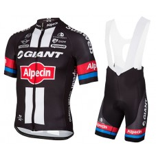 2016 Team Giant-Alpecin Cycling Jersey And Bib Shorts Set
