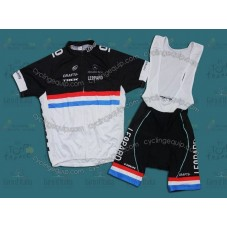 Trek 2011 Red/White/Blue Cycling Jersey And Bib Shorts Set