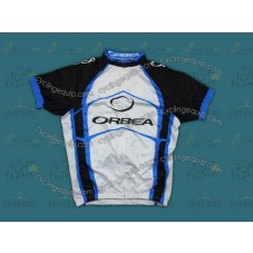 2012 Orbea White And Blue Cycling Jersey