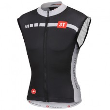 2015 Castelli 3T Black And White Cycling Vest