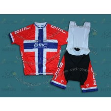 2014 BMC Finland Champion  Cycling Jersey And Bib Shorts Set