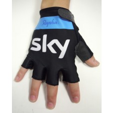 2015 Rapha Sky Team Black And Blue - Cycling Gloves
