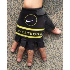 2013 Livestrong Black And White  - Cycling Gloves