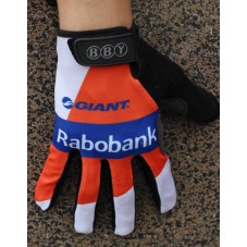 2014 Team Rabobank  - Thermal long Cycling Gloves
