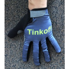 2016 Tinkoff Race Grey Thermal Cycling Gloves